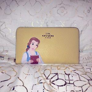 Disney x Coach Belle Wallet